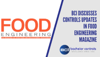 BCI Discusses Controls Updates in Food Engineering Magazine