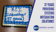 BCI celebrates 37 years providing systems integration solutions!