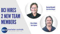 Bachelor Controls Expands Team with Hire of Two Experienced Engineers